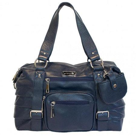 SHUTTERbag Safari Handbag Navy Blue 116 - 66