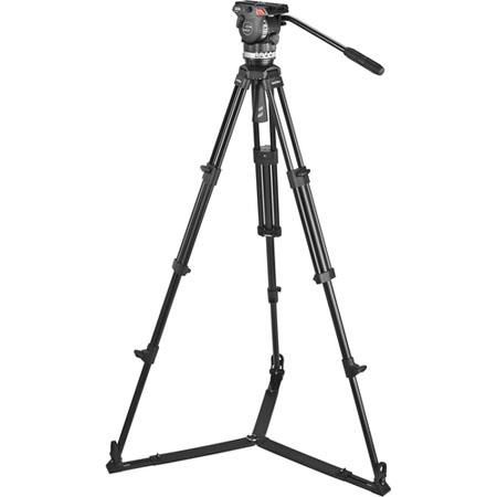 Sachtler Ace M GS System Ace M Fluid Head Tripod On Ground Spreader SP Bag Camera Mounting Plate Pan 153 - 202