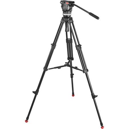 Sachtler Ace M MS System Ace M Fluid Head Tripod Mid Level Spreader Bag Camera Mounting Plate Pan Ba 105 - 619