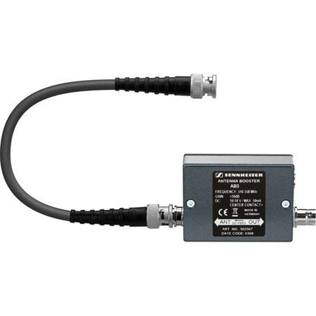 Sennheiser AB Antenna Booster Module ew Receiver dB Amplification Frequency Range A MHz 103 - 157