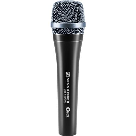 Sennheiser E Wired Professional Cardioid Dynamic Handheld Vocal Microphone Clip 10 - 682
