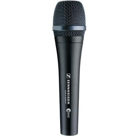 Sennheiser E Wired Super cardioid Dynamic Handheld Vocal Microphone Clip 111 - 638