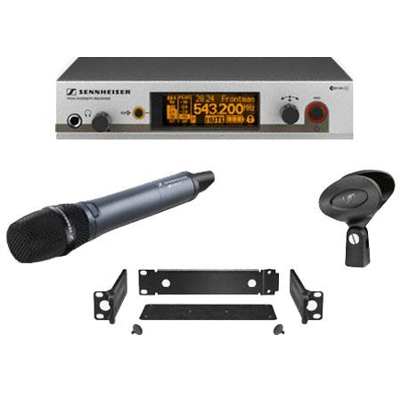 Sennheiser EM Wireless Handheld Microphone System EM Receiver Frequency Range B MHz 142 - 49