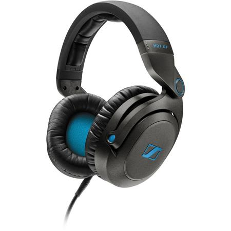 Sennheiser HD DJ Closed Pro Headphones DJ Applications Ohms Hz kHz Frequency Response Plug Adapter 285 - 39