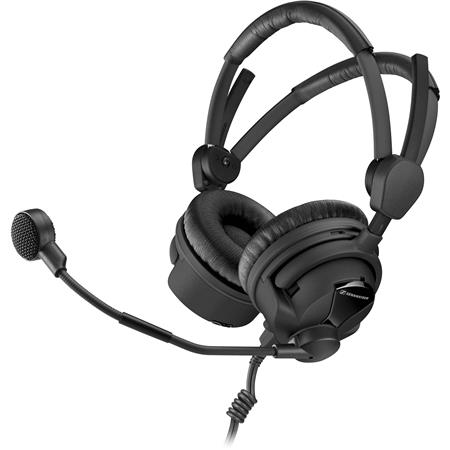 Sennheiser HMD II Broadcast Headset Ohm Impedance to Hz Frequency Response ActiveGard Dynamic Microp 179 - 531