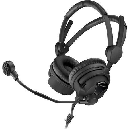 Sennheiser HMD II Broadcast Headset Ohm Impedance ActiveGard Dynamic Microphone 229 - 91
