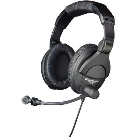 Sennheiser HMD XQ Dual Sided Closed Back Dynamic Headset Supercardioid Boom Microphone 35 - 666