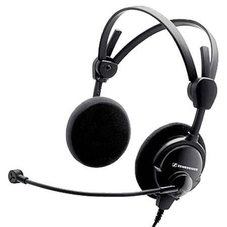 Sennheiser HMD Lightweight Dual Ear Open Boomset Air Traffic Control ActiveGard 69 - 742