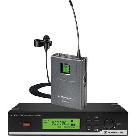 Sennheiser XSW Presentation Set Wireless Lavalier Microphone System MHz Frequency Range 154 - 133