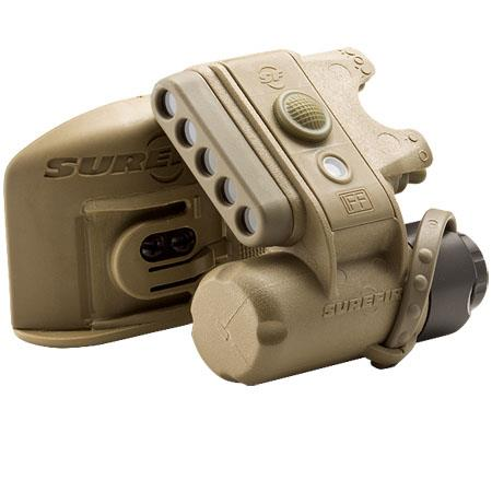 SureFire HL B TN Helmet Light Infrared LEDs Color Coyote Tan 130 - 83