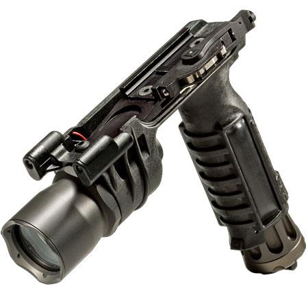 SureFire MA BL Vertical Foregrip Incandescent WeaponLight Blue Navigation LEDs or Lumens  179 - 8
