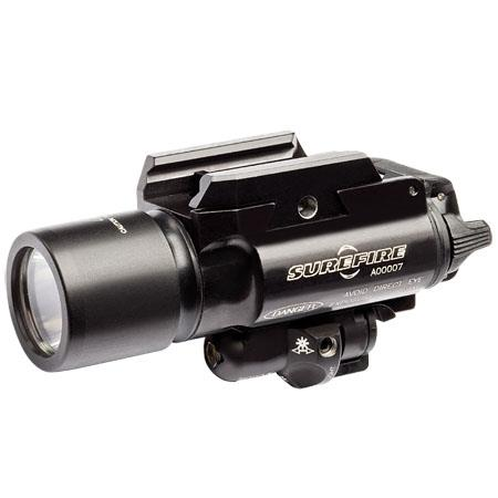 SureFire X LED Handgun Long Gun WeaponLight a Laser Aiming Device Rail Lock System Lumens  132 - 289