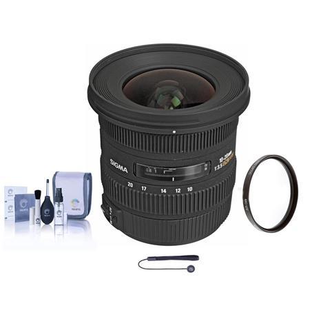 Sigma f EX DC HSM AF Zoom Lens Kit USA Warranty Canon EOS Digital SLR Cameras Tiffen UV Filter Lens  216 - 354