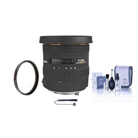 Sigma f EX DC HSM AF Zoom Lens Kit USA Warranty Sony Alpha Maxxum Digital SLR Cameras Tiffen UV Filt 216 - 393