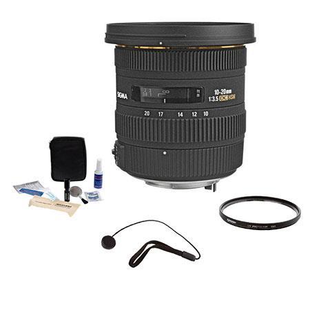 Sigma f EX DC HSM AF Zoom Lens Kit PentaDigital SLR Cameras Tiffen UV Filter Lens Cap Leash Professi 124 - 528