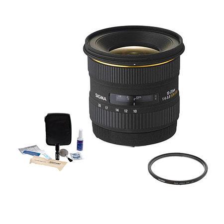 Sigma f EX DC HSM AF Lens Kit USA Warranty Nikon Digital SLR Cameras Tiffen UV Wide Angle Filter Pro 97 - 412