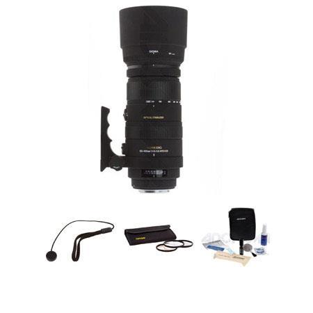 Sigma f DG APO OS HSM Lens Kit USA Warranty Canon EOS Cameras Tiffen Photo Essentials Filter Kit Len 50 - 757