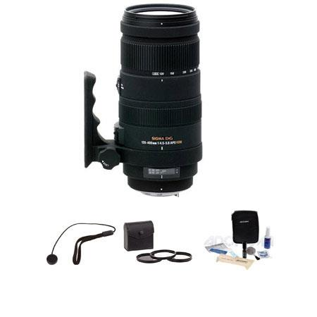 Sigma f DG APO OS Optical Stabilizer HSM AutoFocus Lens PentaDigital Cameras USA Warranty Bundle Pro 79 - 383