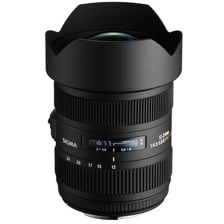 Sigma f DG HSM Autofocus Super Wide Angle Zoom Lens Canon EOS Cameras USA Warranty 57 - 510