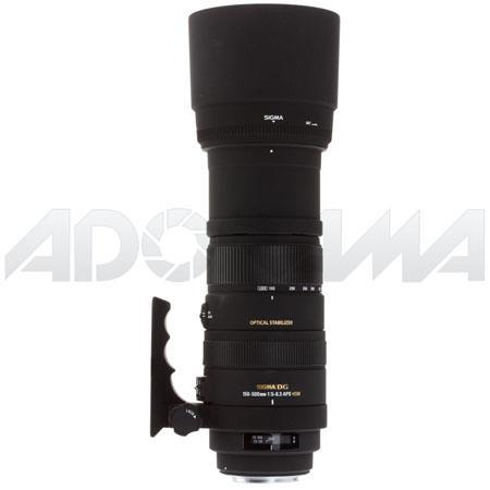 Sigma f DG APO OS Optical Stabilizer HSM AutoFocus Telephoto Zoom Lens Canon EOS Cameras USA Warrant 108 - 509