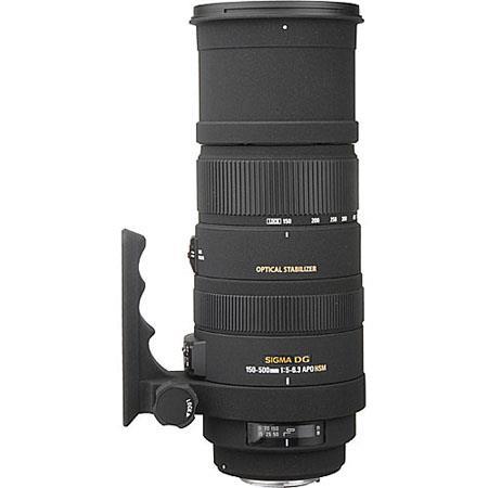 Sigma f DG APO OS Optical Stabilizer HSM AutoFocus Telephoto Zoom Lens Nikon AF Cameras USA Warranty 108 - 509