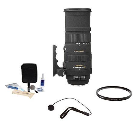 Sigma f DG APO OS Optical Stabilizer HSM AF Lens Kit Sigma Digital SLR Cameras Tiffen UV Filter Lens 63 - 725