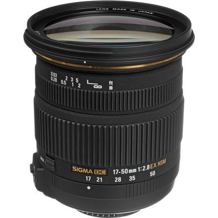 Sigma f EX DC OS HSM Auto Focus Wide Angle Zoom Lens Nikon Digital SLR Cameras USA Warranty 200 - 763