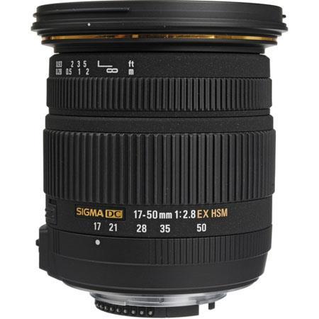 Sigma f EX DC OS HSM Auto Focus Wide Angle Zoom Lens Sigma Digital SLR Cameras USA Warranty 200 - 763