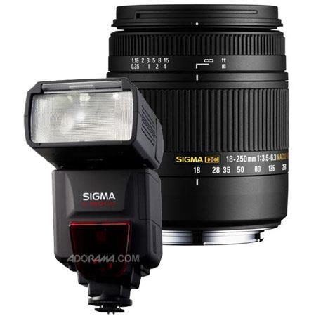 Sigma f DC Macro OS HSM Zoom Lens Canon EOS Digital SLR Cameras USA Warranty Bundle Sigma EF DG ST F 102 - 383