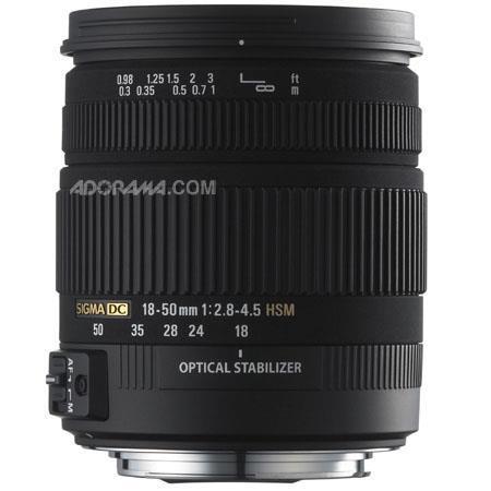 Sigma f DC OS HSM Standard Zoom Lens Nikon AutoFocus Digital SLR Cameras USA Warranty 181 - 69
