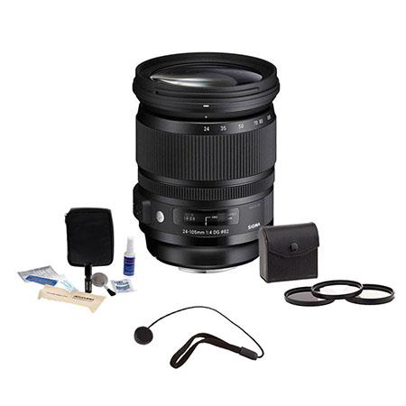Sigma f DG OS HSM Lens Canon EOS Digital Cameras USA Warranty Bundle Pro Optic Pro Digital Multi Coa 43 - 752