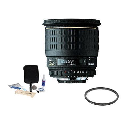 Sigma f EX Aspherical DG DF Macro AF Wide Angle Lens Kit Nikon AF D Cameras Tiffen UV Wide Angle Fil 130 - 42