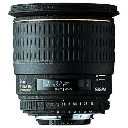 Sigma f EX Aspherical DG DF Macro AutoFocus Wide Angle Lens Hood PentaAF Cameras USA Warranty 110 - 549