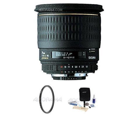 Sigma f EX Aspherical DG DF Macro AF Wide Angle Lens Kit PentaAF Cameras Tiffen UV Wide Angle Filter 130 - 42