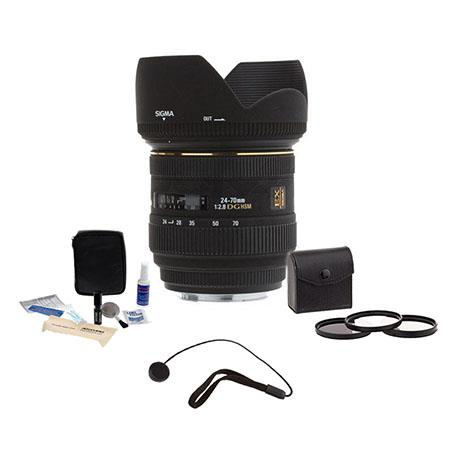 Sigma f EX Aspherical IF EX DG HSM AutoFocus Zoom Lens Canon EOS Cameras USA Warranty Bundle Pro Opt 118 - 54
