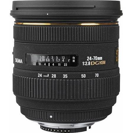 Sigma f EX Aspherical IF EX DG HSM AutoFocus Zoom Lens Nikon AF Digital SLRs USA Warranty 207 - 626