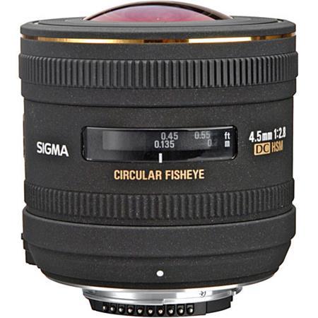 Sigma f EX DC HSM Circular Fisheye Auto Focus Lens Nikon AF D Digital Cameras USA Warranty 221 - 733
