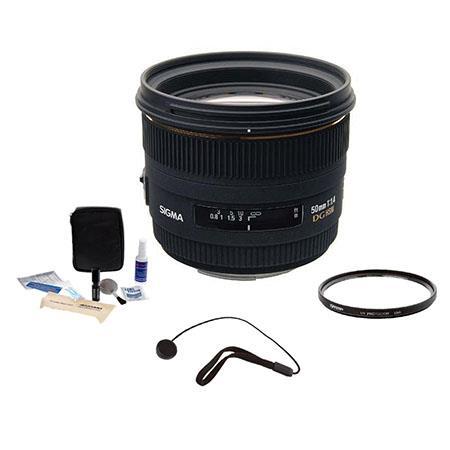 Sigma f EX DG HSM Auto Focus Lens Kit Nikon AF Cameras Tiffen UV Filter Lens Cap Leash Professional  58 - 425