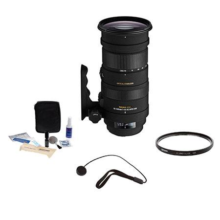 Sigma f APO DG OS HSM Lens Kit PentaSLR Cameras Tiffen UV Filter Lens Cap Leash Professional Lens Cl 64 - 694