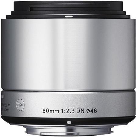 Sigma f DN Lens Micro Four Thirds Cameras Silver 312 - 284