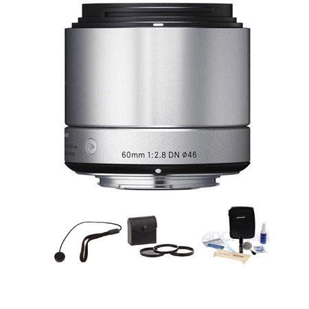 Sigma f DN Lens Sony E mount NeSeries Cameras Silver Bundle Pro Optic Digital Essentials Filter Kit  190 - 339