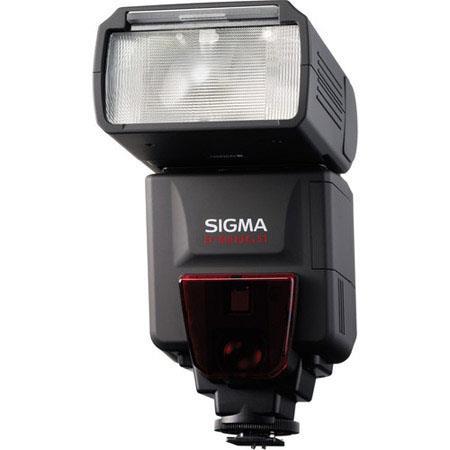 Sigma EF DG ST Shoe Mount Flash PentaPA TTL Digital SLRs Guide Number at Setting 412 - 33