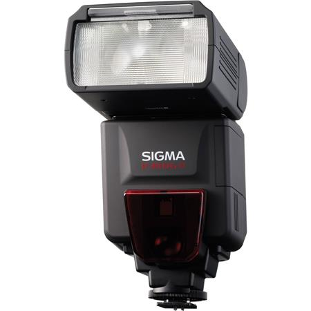 Sigma EF DG ST Shoe Mount Flash Sony ADI Digital SLRs Guide Number at Setting 205 - 487