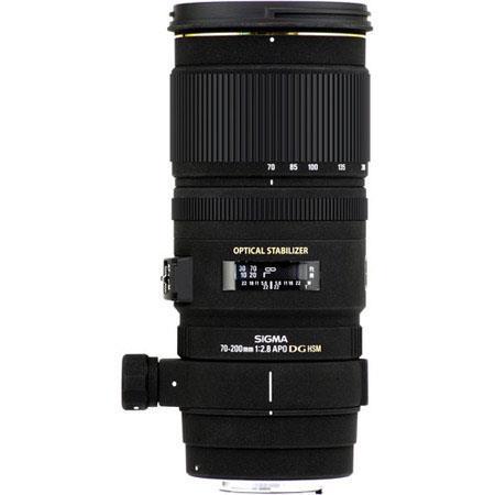 Sigma f EX DG OS HSM Auto Focus Telephoto Zoom Lens Canon EOS USA Warranty 157 - 706