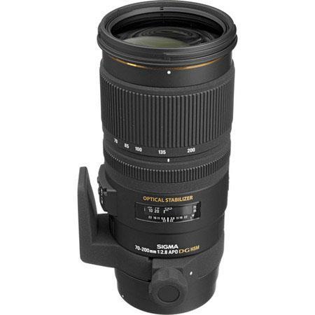Sigma f EX DG OS HSM Auto Focus Telephoto Zoom Lens Nikon AF USA Warranty 225 - 686