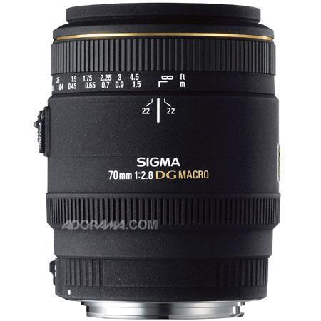 Sigma f EX DG Auto Focus Macro Lens Sigma Cameras USA Warranty 93 - 208