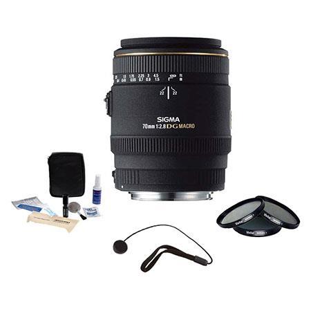 Sigma f EX DG AF Macro Lens Sigma Cameras Kit Tiffen Photo Essentials Filter Kit Lens Cap Leash Prof 49 - 84