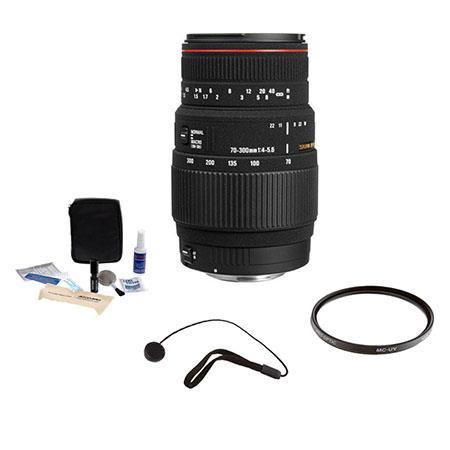 Sigma f APO DG Macro Tele Zoom Lens Kit the Maxxum Sony Alpha Mount Tiffen UV Filter Lens Cap Leash  112 - 292