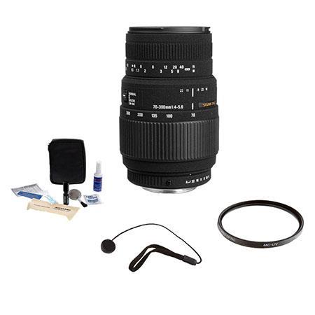 Sigma f DG Macro Tele Zoom Lens Kit the Maxxum Sony Alpha Mount Tiffen UV Filter Lens Cap Leash Prof 69 - 257