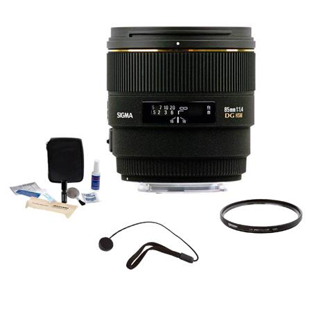 Sigma f EX DG HSM Lens Kits Nikon AF Cameras with Tiffen UV Filter Lens Cap Leash Professional Lens  157 - 771
